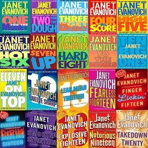 janet evanovich book list