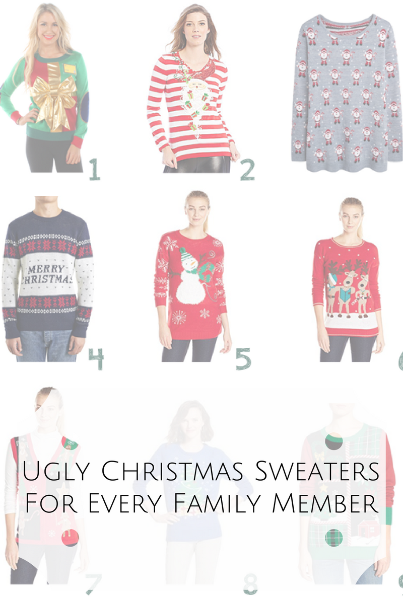 Ugly Christmas Sweaters For Nonstop Holiday Fun